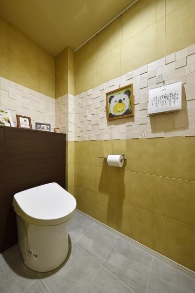 トイレ (川崎市T様邸 ~風の通り道~)
