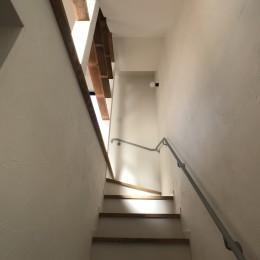 趣味と暮らしやすさにこだわった「自分たちのため」の家 (1階から2階へ)