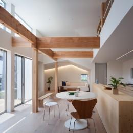 代沢1丁目戸建リノベーションPJ (1階LDKスペース)