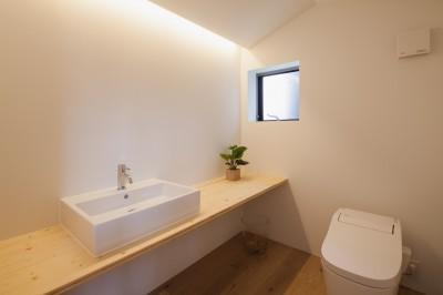 トイレ (代沢1丁目戸建リノベーションPJ)