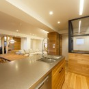 re.haus-tn/二世帯住宅の一世帯分をフルリノベーションの写真 re.haus-tn キッチン