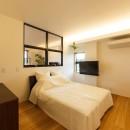 re.haus-tn/二世帯住宅の一世帯分をフルリノベーションの写真 re.haus-tn 寝室