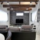 増築して完全分離型二世帯住宅にの写真 リビングダイニング