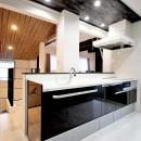 増築して完全分離型二世帯住宅にの写真 キッチン