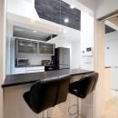 増築して完全分離型二世帯住宅にの写真 カウンターキッチン