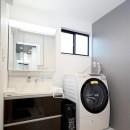 増築して完全分離型二世帯住宅にの写真 洗面室