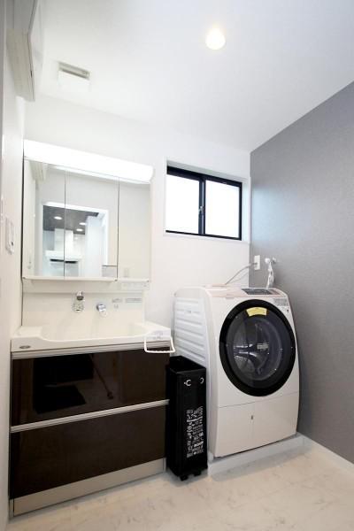 洗面室 (増築して完全分離型二世帯住宅に)