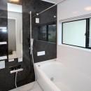 増築して完全分離型二世帯住宅にの写真 浴室