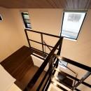 増築して完全分離型二世帯住宅にの写真 階段・吹き抜け
