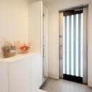 増築して完全分離型二世帯住宅にの写真 玄関