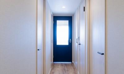 陽当り、眺望の良い最上階のお部屋をリノベーション! ~ I様邸 ~ (廊下)