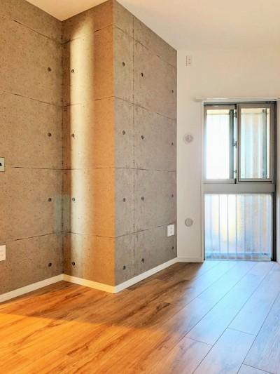 洋室2 (陽当り、眺望の良い最上階のお部屋をリノベーション! ~ I様邸 ~)
