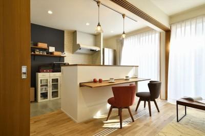 キッチン (ここまで変わる!築40年の戸建てを一新)