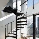 026高崎Mさんの家の写真 らせん階段