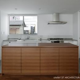 026高崎Mさんの家 (キッチン)