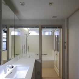 東玉川の家 (洗面所)