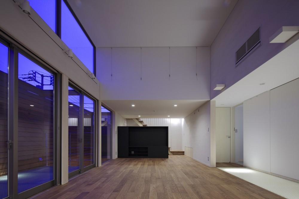 東玉川の家 (リビング)