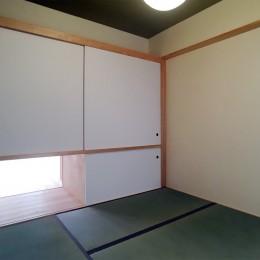裁縫スペースのある家 浦和マンションリノベーション (風通しの良い寝室が欲しい。)