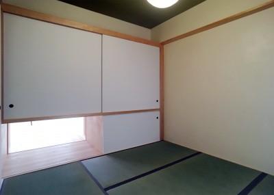 風通しの良い寝室が欲しい。 (裁縫スペースのある家 浦和マンションリノベーション)