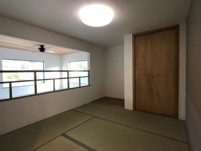 畳スペース (葉山でのんびり暮らす終の棲家)