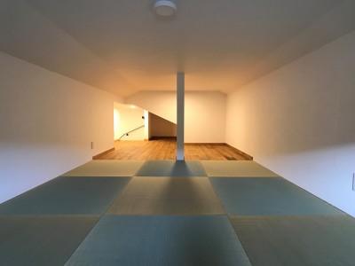 和洋室 (葉山でのんびり暮らす終の棲家)