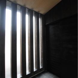軽井沢の家 (風除室)
