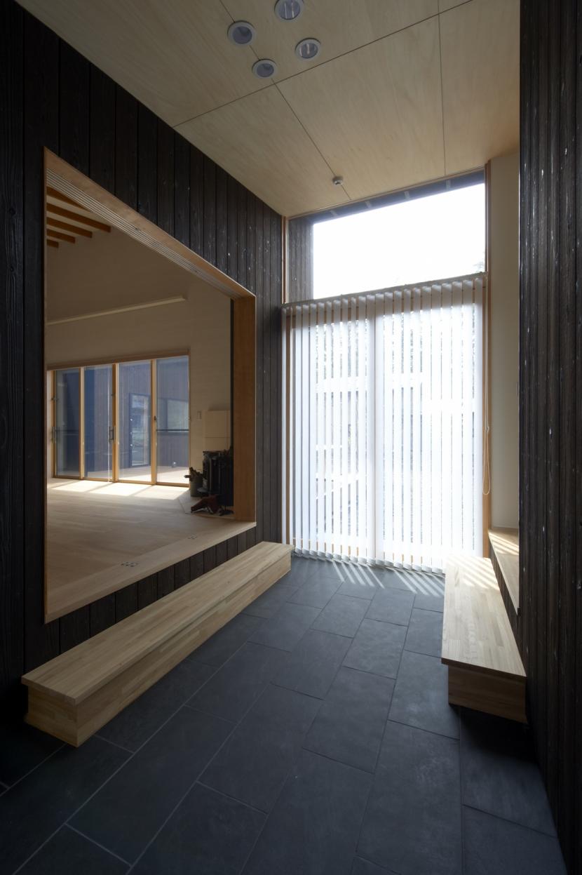 軽井沢の家 (土間スペース)