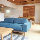 サンユーハウジングの住宅事例「中古マンション・フルリノベーション_001「木の暖かみにあふれた優しい家」」