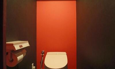 音楽を楽しむための部屋 (トイレ)