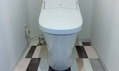 陽当り、眺望の良い最上階のお部屋をリノベーション! ~ I様邸 ~ (トイレ)