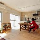 柔らかく、温い家の写真 LDK