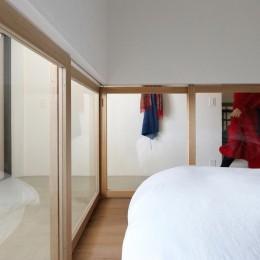 柔らかく、温い家 (ベッドルーム)
