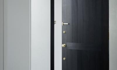 026高崎Mさんの家 (玄関)