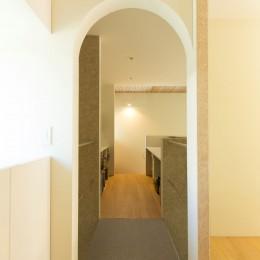 南砂の住宅 (開口)