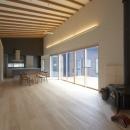 軽井沢の家の写真 家族室