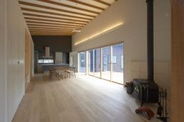 軽井沢の家 (家族室)
