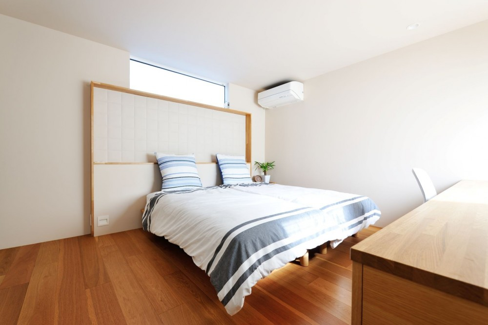 春日部の住宅 (寝室)