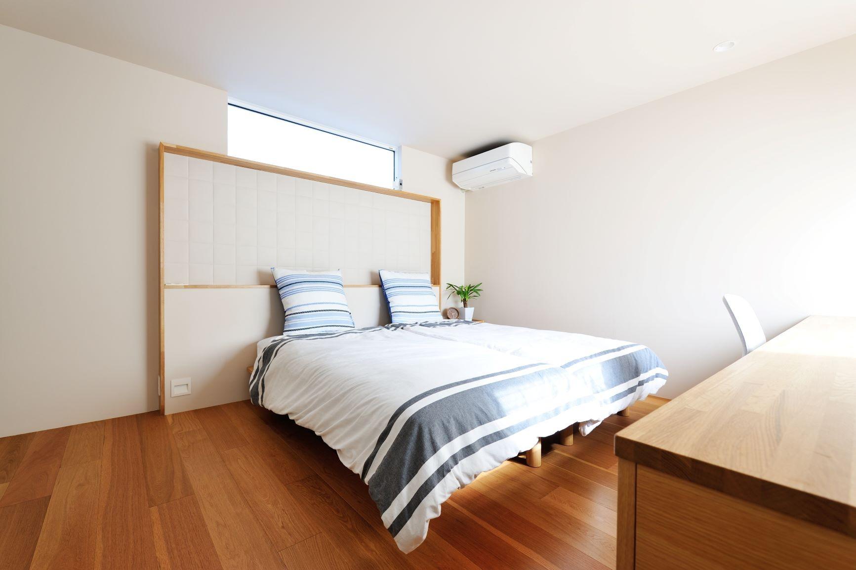 ベッドルーム事例:寝室(春日部の住宅)
