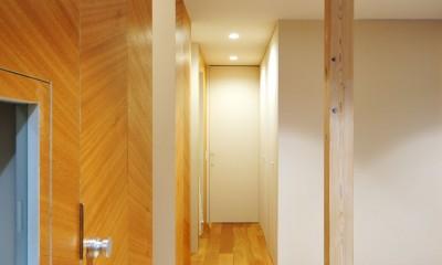 春日部の住宅 (廊下)