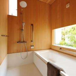 春日部の住宅 (浴室)