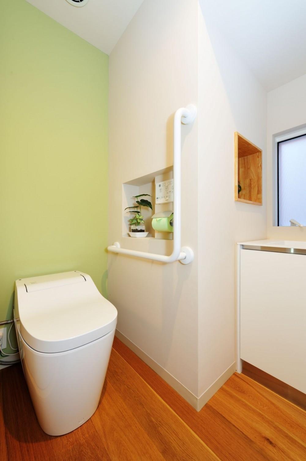 春日部の住宅 (トイレ)