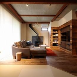 「住む人が家を好きになる。」カスタマイズする家 (Living)