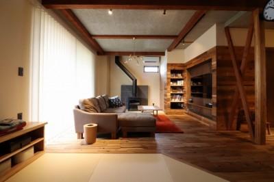 Living (「住む人が家を好きになる。」カスタマイズする家)