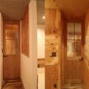 「住む人が家を好きになる。」カスタマイズする家の写真 Livingへとつながるドア