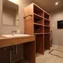 「住む人が家を好きになる。」カスタマイズする家の写真 サニタリーの空間デザイン