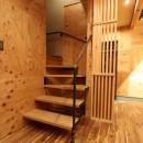 「住む人が家を好きになる。」カスタマイズする家の写真 スリップ階段
