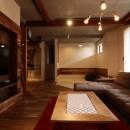 「住む人が家を好きになる。」カスタマイズする家の写真 Living+畳コーナー