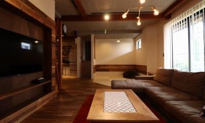 Living+畳コーナー|「住む人が家を好きになる。」カスタマイズする家