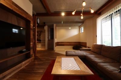 「住む人が家を好きになる。」カスタマイズする家 (Living+畳コーナー)