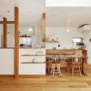 S邸「ほっこり」陽だまりの家。の写真 LDK